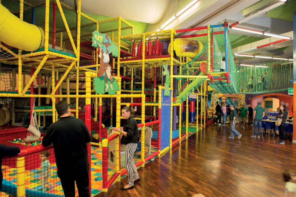 Giochi attrezzati al Play Planet di San Benedetto del Tronto